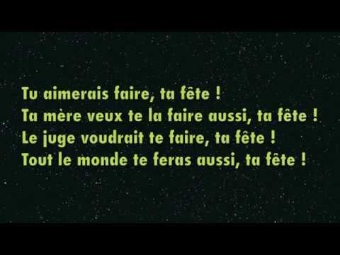 Ta Fête - Stromae ★ Paroles -Lyrics