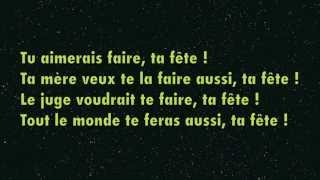 Ta Fête - Stromae ? Paroles -Lyrics