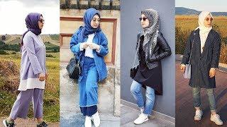 Günlük ve Şık Tesettür Giyim Modelleri |TRENDLER | Hijab Lookbook