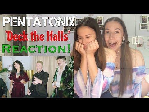 PENTATONIX | DECK THE HALLS | REACTION