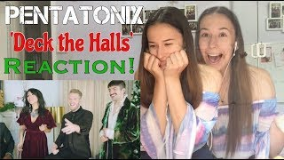 PENTATONIX | DECK THE HALLS | REACTION
