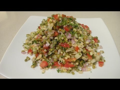 Sprouted Moong Chaat | Chef Alyona