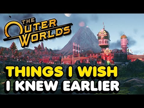 Things I Wish I Knew Earlier In The Outer Worlds (Tips & Tricks)