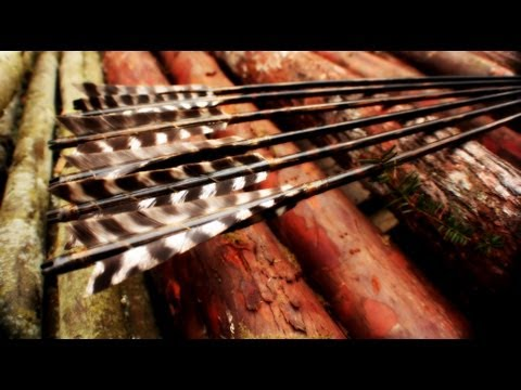 How to: Sinew Wrapped Fletching of Primitive Arrows