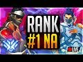 🔴Overwatch Rank #1 NA Peak 4646 SR! 2-0 IN CONTENDERS LET'S GO!!!! Pushing SR Main Games