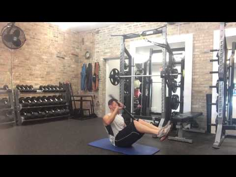 Weighted Bar Kayaker - Online Personal Trainer