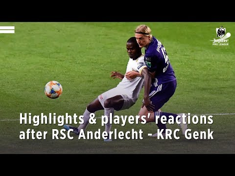 Highlights & players' reactions after RSCA - KRC Genk