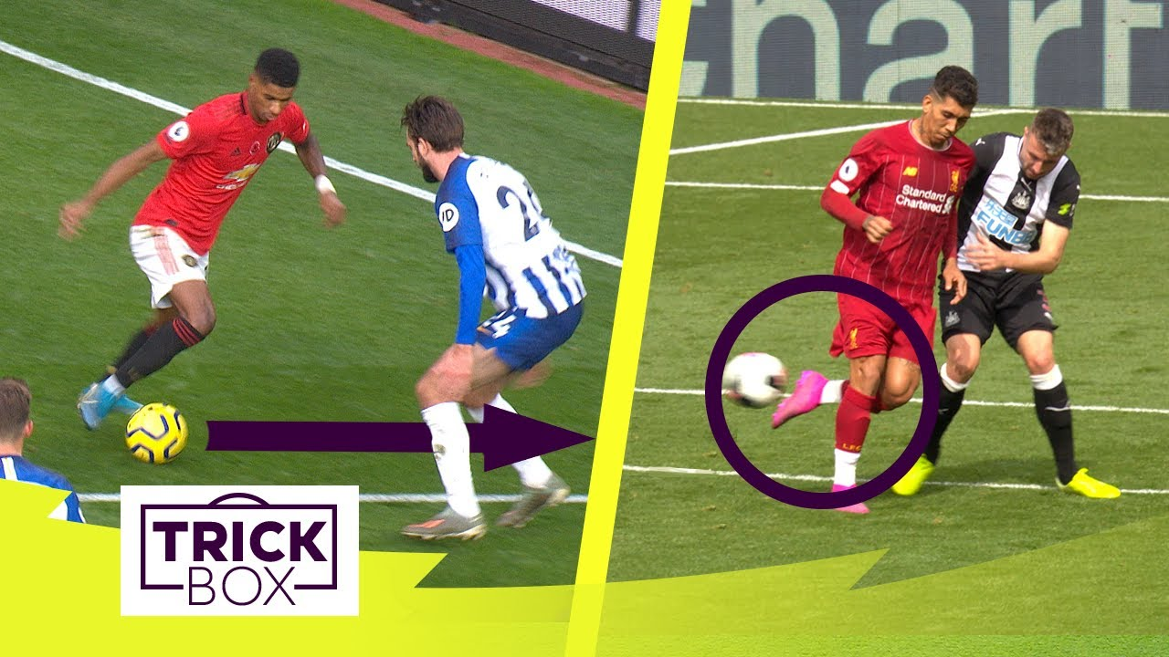 RASHFORD ELASTICO & FIRMINO FLICK ASSIST | Best Premier League Skills 2019/20