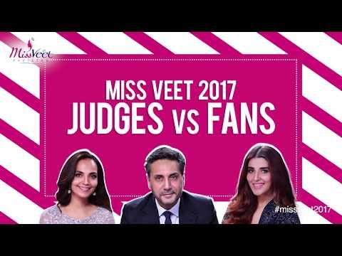 Miss Veet Judges VS Fans