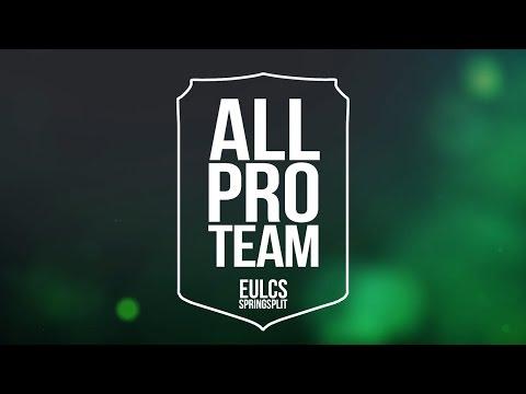 EU LCS All-Pro Team | Spring Split 2017