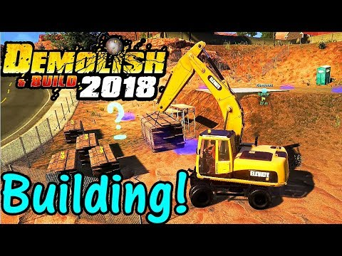 Let's Play Demolish And Build 2018 #11: House Building!