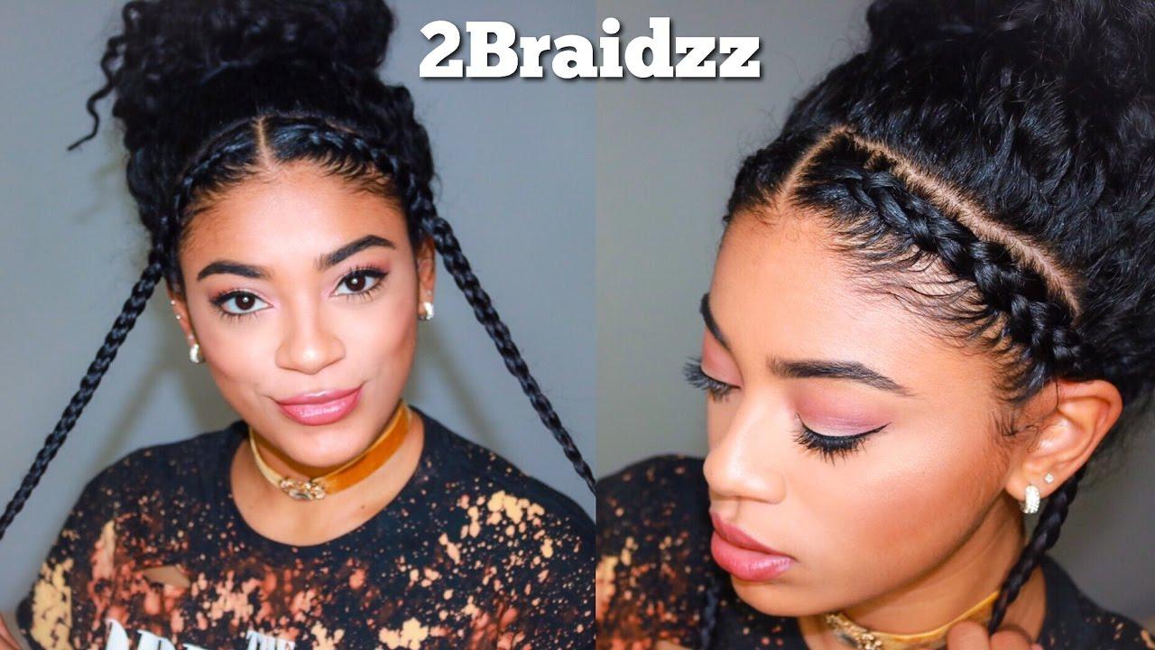 Two Braid Hairstyles - Natural Curly Hair   jasmeannnn ...