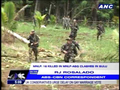 22 dead in Abu Sayyaf-MNLF clashes: military