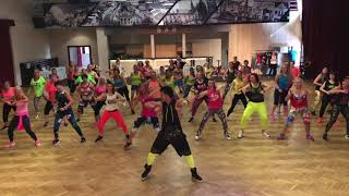 J Balvin Ft. Wisin & Yandel - Peligrosa ZUMBA PARTY IN KOSICE