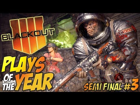 Call of Duty: Black Ops 4 - BLACKOUT Plays Of The Year #3 (BO4 Blackout Moments Montage)