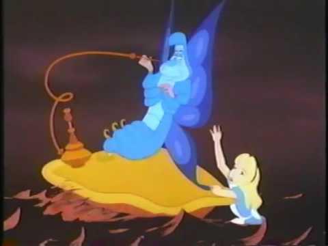 Closing to Walt Disneys Alice in Wderland 1986 VHS