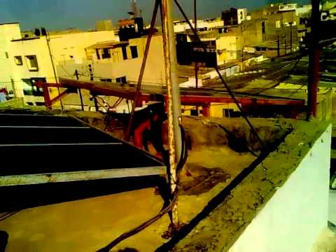 pompage energie gamou senegal system hybrid solaire eolienne 2Kw