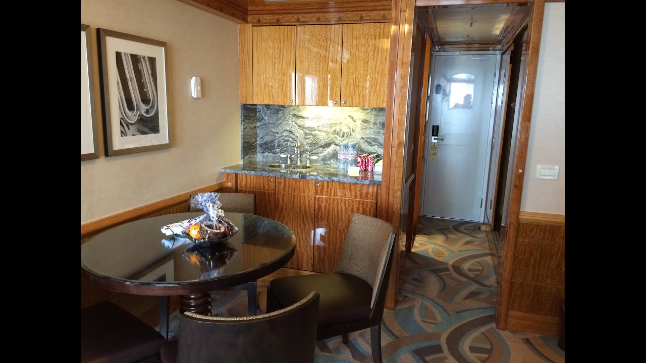 Disney Magic Cabin 8546 Concierge One Bedroom Suite Video