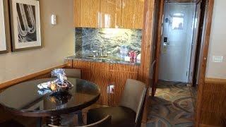 Download Video Disney Magic cabin 8546 Concierge One Bedroom Suite Video Tour  #DisneyMagic #DisneyCruiseLine MP3 3GP MP4