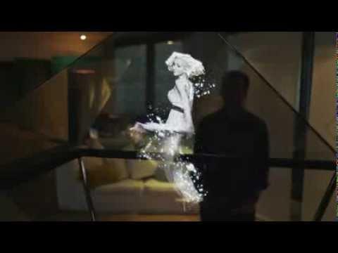 Holo - the Interactive Hologram - YouTube