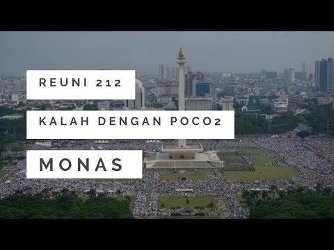 Jumlah Peserta Reuni 212 Kalah Dengan Tari Poco-Poco Jokowi: Buktinya