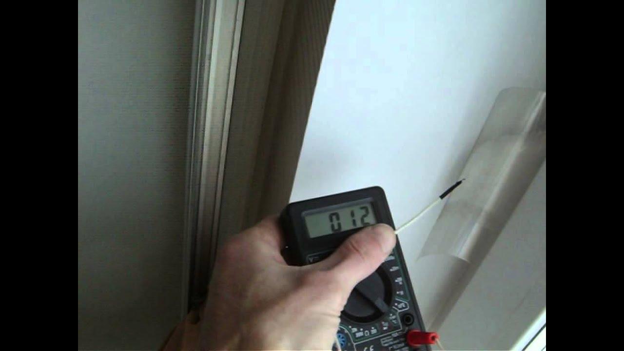 Автоматический клапан приточной вентиляции AERECO - YouTube