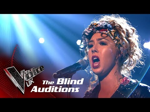 Scarlett Quigley Performs 'Wishing You Were Somehow Here Again': Blind Auditions | The Voice UK 2018