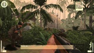 04. Medal of Honor: Pacific Assault - Realistic Difficulty Walkthrough - Makin Atoll: Stealth Jungle
