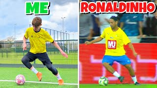 RECREATING VIRAL FOOTBALL MOMENTS !