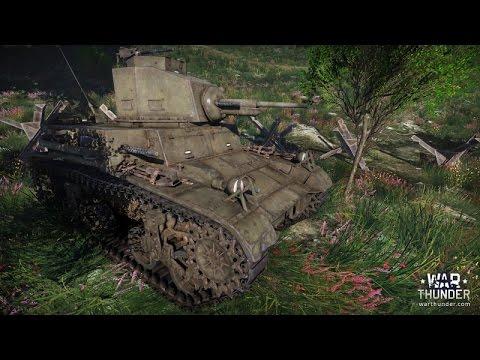 War Thunder Tier 1 American Tanks Gameplay - YouTube