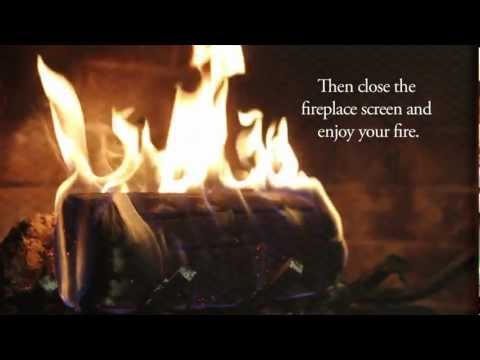 How To Use And Light A Pine Mountain Firelog