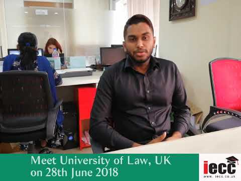 Meet University of Law at IECC Dhaka office on 28th June