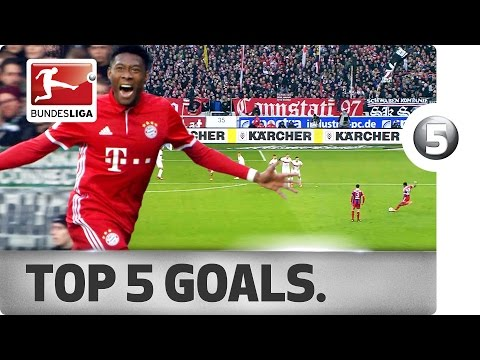 David Alaba - Top 5 Goals