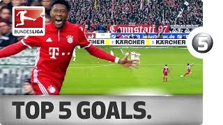 David Alaba - Top 5 Goals