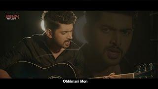 Obhimani Mon (Lyrical Video)   Prem Ki Bujhini   Om   Subhashree   Latest Bengali Song 2016