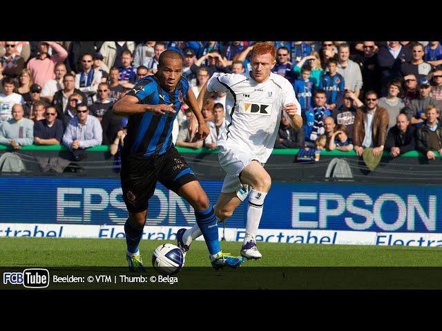 2011-2012 - Jupiler Pro League - 10. Club Brugge - AA Gent 2-0