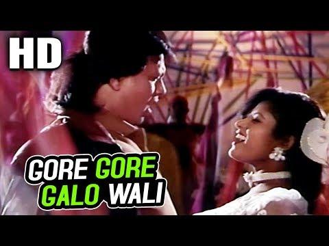 Gore Gore Galo Wali   Abhijeet, Poornima   Hatyara 1998 Songs   Mithun Chakraborty