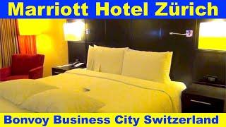 5 Star Marriott Hotel, Zurich, Switzerland - Room for Rewards Member - I LOVE IT