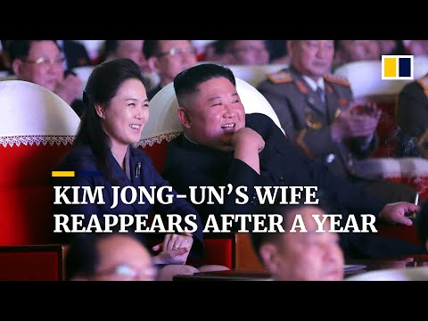 North Korean leader Kim Jong-un's wife Ri Sol-ju reappears after year-long absence