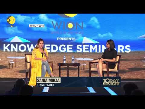 Sania Mirza lets out a secret during an exclusive conversation with WION