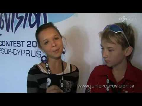 We met two former winners from Belarus!