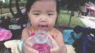 VLOG | Perfect day for splash pad & snow cone!