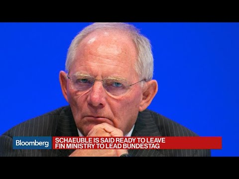 Germany's Schaeuble Said Ready to Lead Bundestag