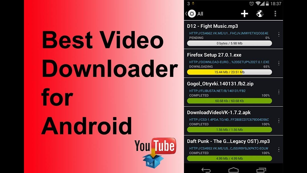 Best Video Downloader for Android -2017