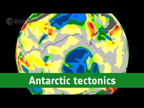 Ancient continent discovered beneath the ice of Antarctica