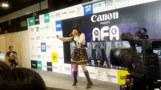 大橋彩香 Ohashi Ayaka - YES!! @ AFA2014 Day 3, Singapore.