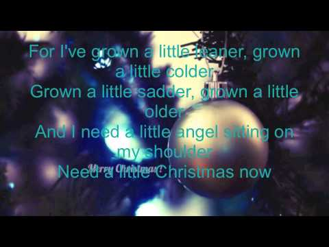 We need a little Christmas lyrics