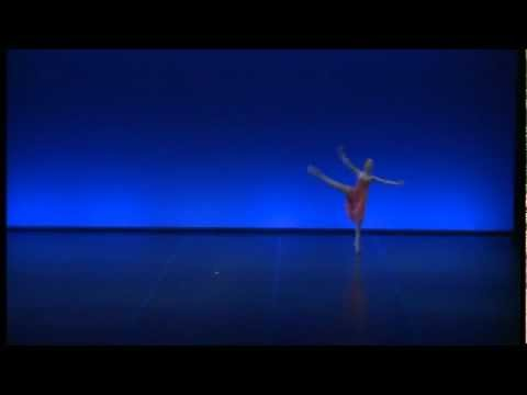 Katia Almayeva, 15, performs Gamzatti variation at Helsinki Int. Ballet Competition
