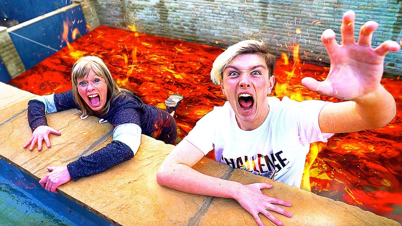Image result for floor is lava challenge