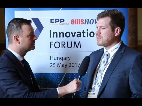 Interview with Jonas Ernst M.B.A., Area Sales Manager, Fuji at InnovationsFORUM Hungary